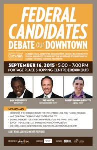 Downtown Federal Candidates Debate