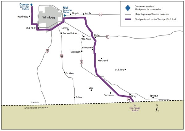 Manitoba Hydro - Minnesota Transmission Line