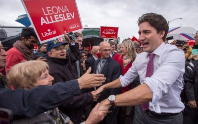 Trudeau Turfs Harper Conservatives from Office, Liberals to Form Government