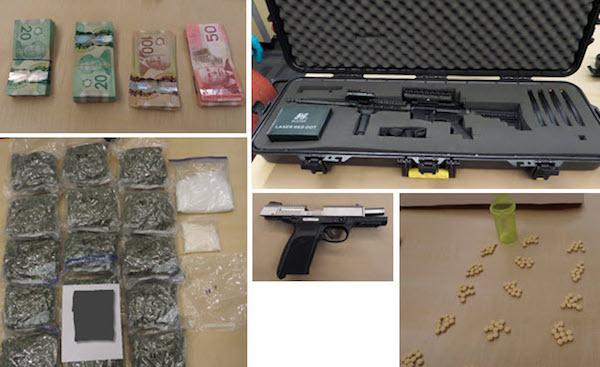 Weapons - Drugs Seizure