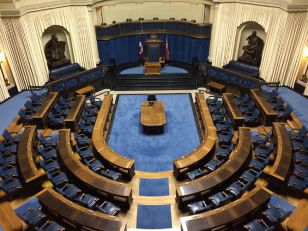Manitoba Legislature Chamber
