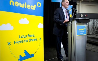 Cleared for Takeoff: Discount Airline NewLeaf to Begin Flights July 25
