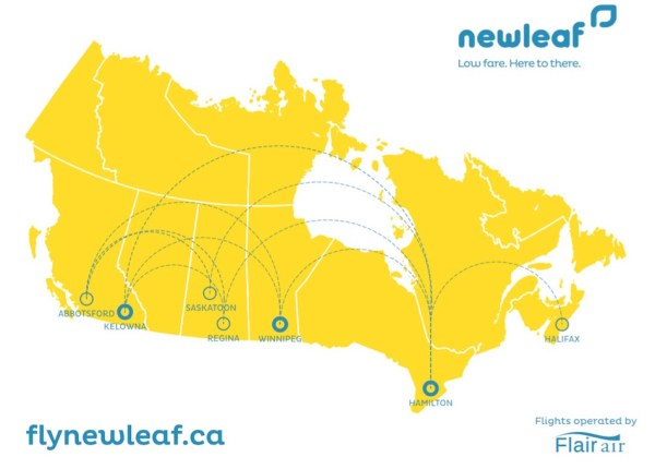 NewLeaf Route Map
