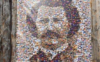 Louis Riel Mosaic Unveiled at Festival du Voyageur