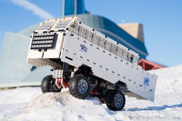 Tundra Buggy Lego