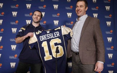 Blue Bombers GM Kyle Walters Not Expecting to Be Active in CFL Free Agency