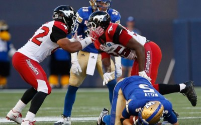 Wounded Winnipeg's Ignition Fails, Bombers Lose to Stampeders 33-18