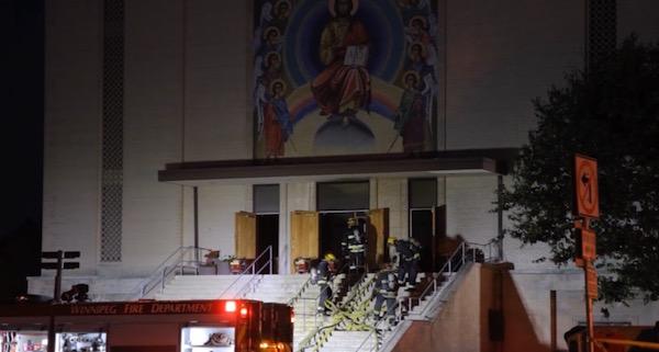Holy Trinity Ukrainian Orthodox Metropolitan Cathedral Fire
