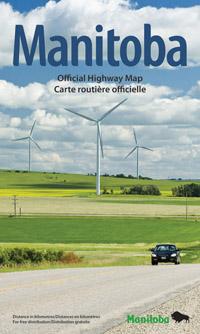 2016 Manitoba Highway Map