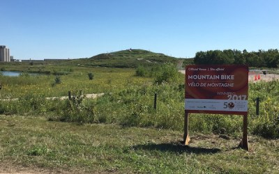 FortWhyte Alive Home to New Mountain Bike Course