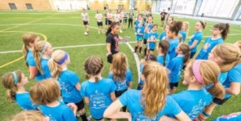 Desiree Scott Soccer Camp
