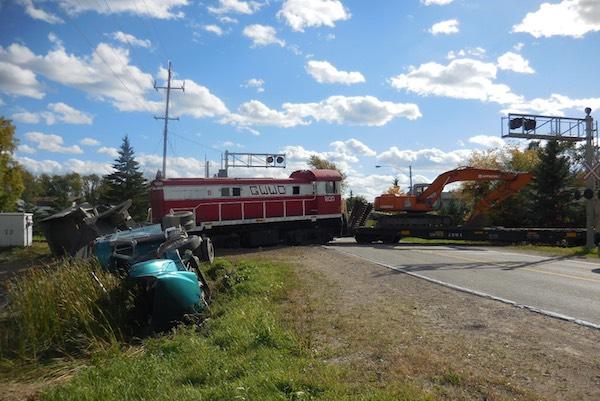 Truck - Train Crash