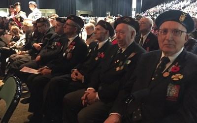 Hundreds Take Time to Honour and Remember Those Who Served Their Country