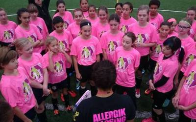 Desiree Scott Soccer Camp Raises $20K for KidSport