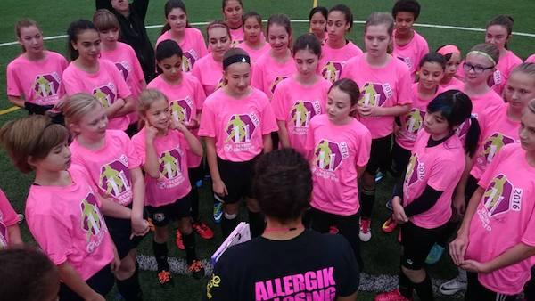 Desiree Scott Soccer Camp