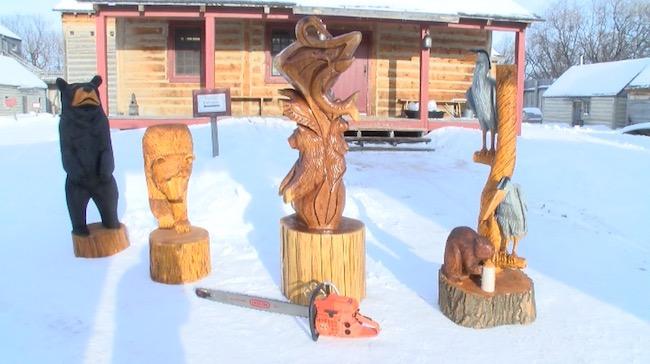 Wood Carving - Festival du Voyageur