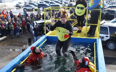 Polar Plunge: Law Enforcement Community Taking Chilly Dip for Charity
