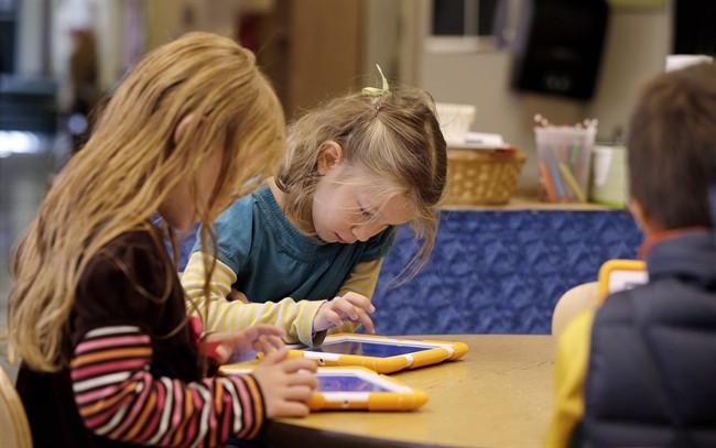 Children iPads