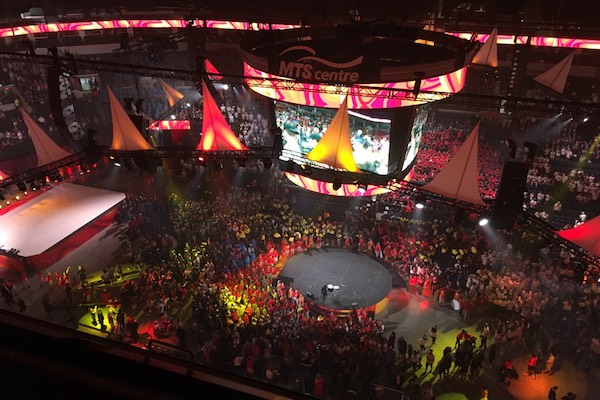 Canada Summer Games Opening Ceremonies