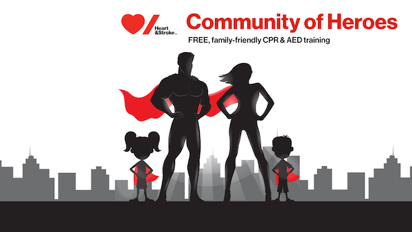 Heart and Stroke Foundation CPR