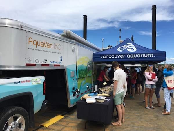 Vancouver Aquarium's AquaVan 150