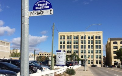 Winnipeg Goldeyes Receive Honourary Street Renaming
