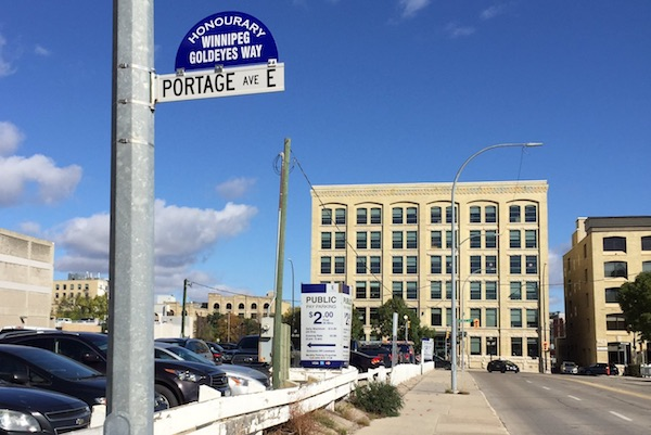 Winnipeg Goldeyes Way