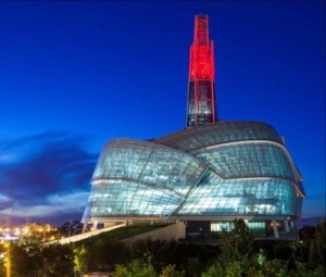 CMHR Red Tower
