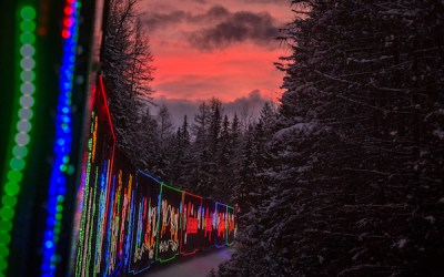 CP Holiday Train Travelling Through Manitoba December 3-5