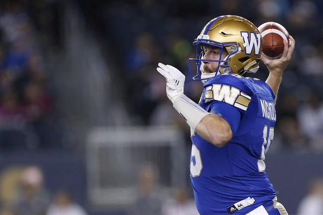 Matt Nichols - Winnipeg Blue Bombers