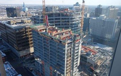True North Square Reaches Construction Milestone