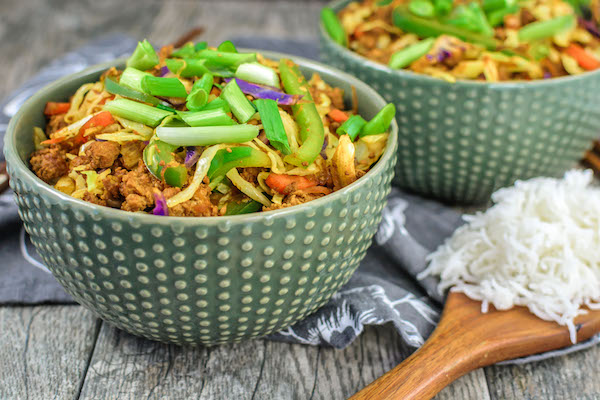 Egg Roll Rice Bowls
