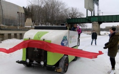 Winnipeg's Skating Trail Breaks Records Before Closing for the Season