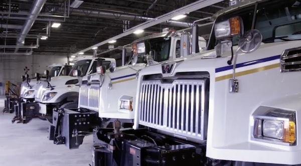 Winnipeg Sanding Trucks