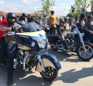 Obby Khan - Manitoba Motorcycle Ride for Dad