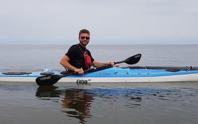 Local Kayaker Attempting Solo Trip Around Lake Winnipeg