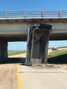Highway 59 Dump Truck Crash
