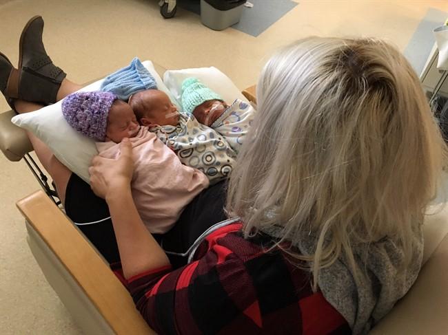 Newborn Babies - Triplets