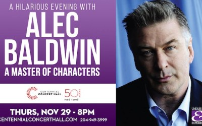CONTEST: Win Tickets to Alec Baldwin at the Centennial Concert Hall