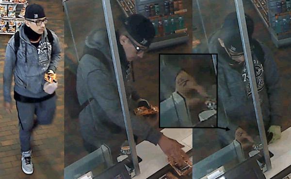 Purse Robbery Suspect