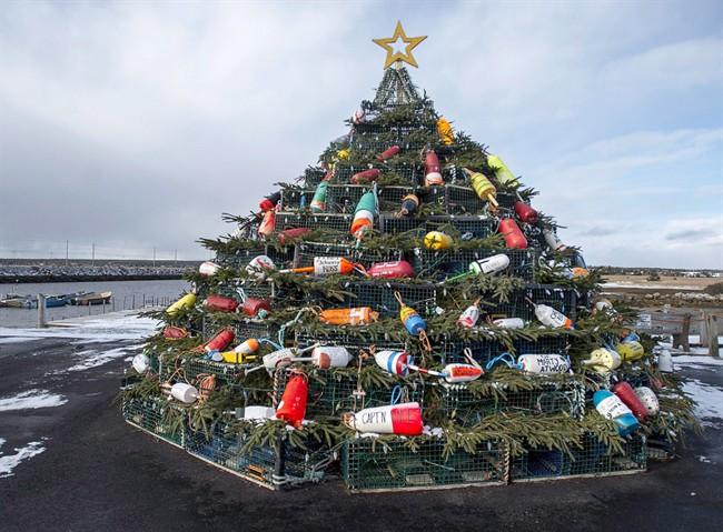 Lobster Christmas Tree