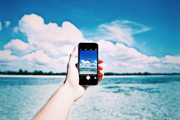 Beach Cell Phone
