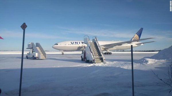 Goose Bay United Flight
