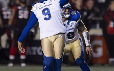 Winnipeg Blue Bombers Kicker Justin Medlock Ready for Grey Cup Microscope