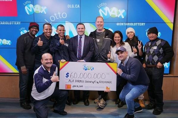 Ontario Lottery Winners
