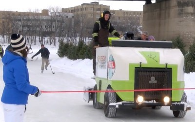 Red River Mutual Trail Opens for Skating at The Forks