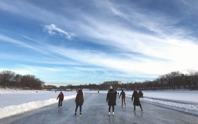 Winnipeg's River Skating Trail Extends to 6.3 Kilometres