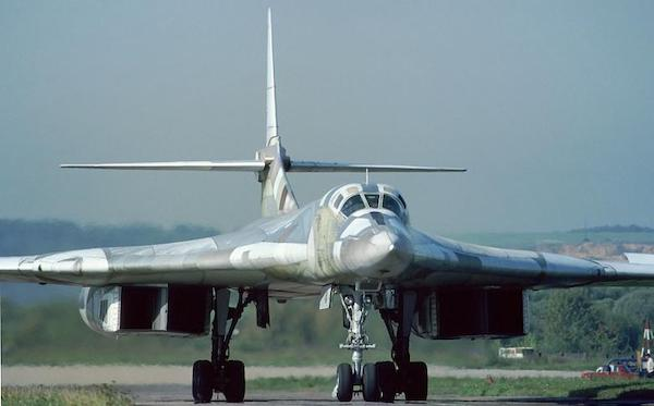 Russian Tu-160 Blackjack