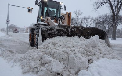 Southern Manitoba in Store for Up to 25 cm of Snow