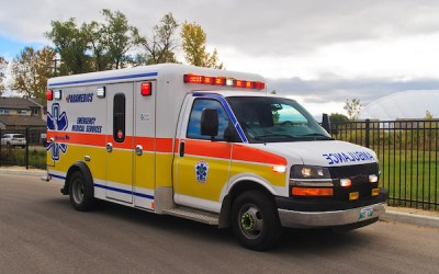 Man Goes on a Joyride After Stealing Ambulance from HSC